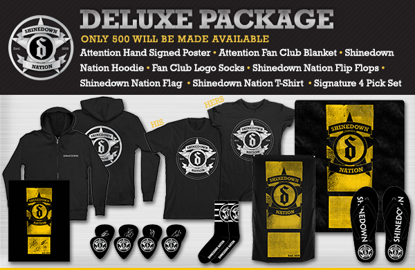 Official Website of Shinedown Shinedown Nation Package